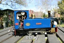 16mm Scale Roundhouse Millie Live Steam Locomotive 45mm Garden Railway G Gauge