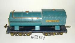 1935 Lionel Std. Gauge Darker Blue Comet Set with 400E, 420 421 422 (DAKOTApaul)