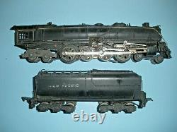 1939 Only American Flyer #568 (#806) Diecast O Gauge 4-8-4 Locomotive and Tender