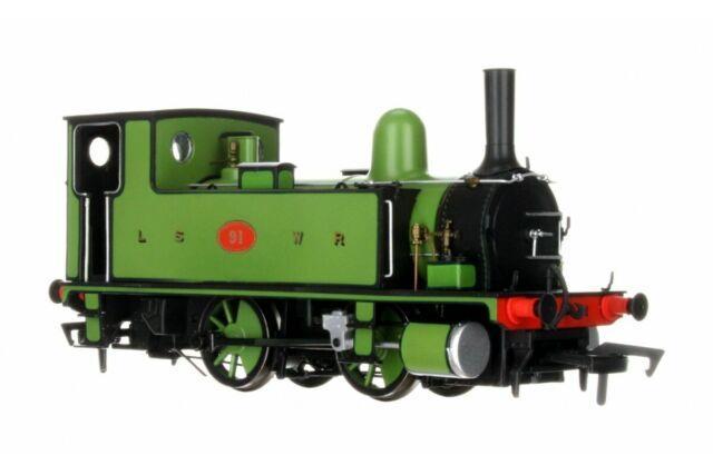 4s-018-006 Dapol Oo Gauge L & Swr B4 0-4-0t Lined Green 91