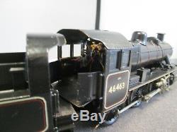 7mm Finescale O Gauge Brass Kit Built Ivatt Class 2 (2MT) 46463 BR Black