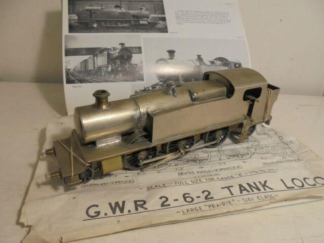 7mm. N/sogauge Kit- Gwr 51xx 2-6-2 Tank Loco(needs Finishing)well Built C1990