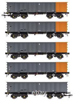 ACC2100BSC Accurascale OO Gauge PTA/JTA+JUA Bogie Tippler Pack (Outer) TOPS