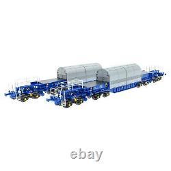 ACCURASCALE KUA Nuclear Flask Carrier Twin Pack OO Gauge ACC2400KUA