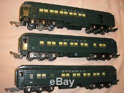 AF(O Gauge) RARE Diecast Pass Cars (2) 524's (1) 521 (EX)