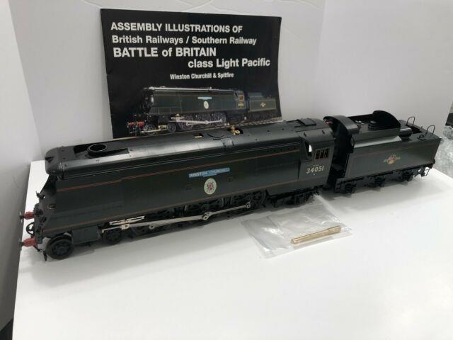 Aster Live Steam Winston Churchill Acohol New Factory Built Gauge 1