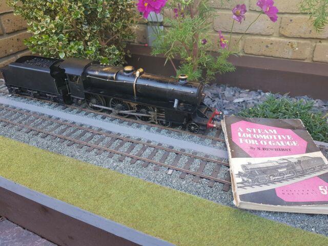 A Very Rare 0 Gauge Black 5 Live Steam Loco Not Bassett Lowke Bowman With Book