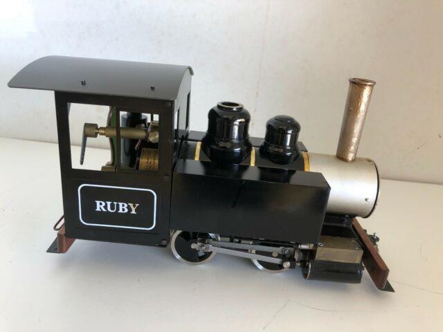 Accucraft Ac77-010 Ruby #1 Black, No Pressure Gauge, Live Steam, Rtr