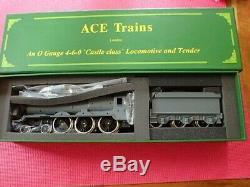 Ace Trains O Gauge Castle & Tender KIT including motor and wheels Mint