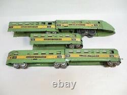 American Flyer 1322RT Illinois Central Streamliner Prewar O Gauge X6815