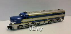 American Flyer 20475 S Gauge Missouri Pacific Eagle Diesel Passenger Set Nice