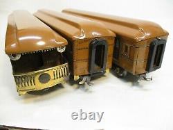 American Flyer 4080, 4081, 4082 Tan Pass Cars Standard Gauge X6117