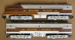 American Flyer 6-49606 SILVER FLASH Passenger Set withRailsounds S-Gauge LNIB