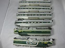 American Flyer AF S Gauge K 5364W Diesel Engine 475 Passenger Rocket Set + Boxes