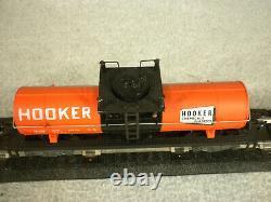 American Flyer S Gauge # 24324 Hooker Chemicals Tank Car Excellent no box