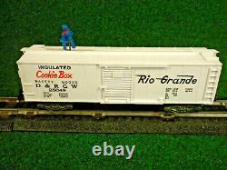 American Flyer S Gauge #25049 Rio Grande Brakeman Box Car Excellent W /box