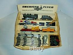 American Flyer S Gauge Keystone Vintage Train Set Nice Condition