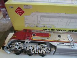 Aristo Craft ART-23609 Santa Fe EMD E-8, G Gauge, 129 Excellent