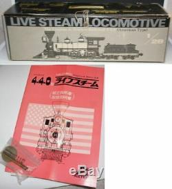 Aster Hobby asterhobby Live Steam 1 gauge AMERICAN 4.4.0 Reno Locomotive V&THR