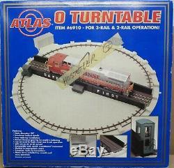 Atlas O 6910 24 Turntable for O-Gauge NOS