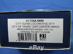 BACHMANN OO GAUGE 31725A NRM GWR 4-4-0 3717 CITY OF TRURO GWR 125th LTD ED- VGC