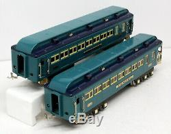 BW MTH 400E Standard Gauge Blue Comet 4 Car Passenger Set Reissue Prewar Lionel