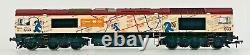 Bachmann 00 Gauge 32-979u Class 66 Diesel 66721 London Underground Tube Map