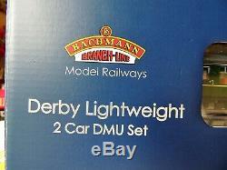 Bachmann 00gauge Derby lightweight 2 Car DMU set