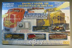Bachmann Ho Santa Fe Digital Commander Diesel Train Set DCC Gauge Bac00501 New