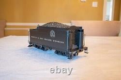 Bachmann Spectrum G Gauge K-27 2-8-2 D&rgw #455 Green Loco & Coal Car 8309