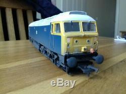 Bachmann class 47 blue weathered oo gauge