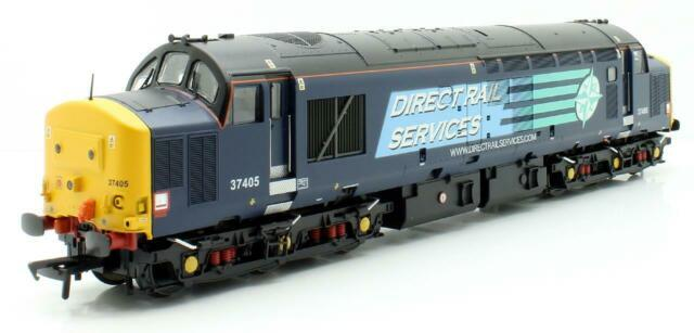 Bachmann'oo' Gauge 32-370 Class 37 405 Drs Compass Diesel Locomotive