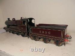 Bing/Bassett Lowke-Gauge1-LMS 4-6-0Sir Gilbert Claughton-5900-Maroon-12v-c1928