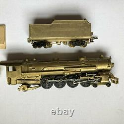Bowser Brass HO Gage Mountain Locomotive 4-8-2 Steam Locomotive WithTender