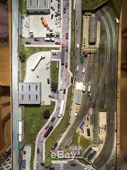 COMPLETE SETUP Model Railway N Gauge Layout DCC 4x2 Foot. Gaugemaster
