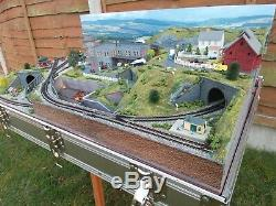 Classic N Gauge Briefcase Layout By Mountain Lake Model Railways Made To Order