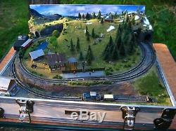 Custom Z Gauge Briefcase Layout By Mountain Lake Model Railways Made To Order