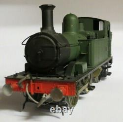 DCC/Sound 0 gauge kitbuilt brass GWR/BR 48xx class 0-4-2T Locomotive in Green