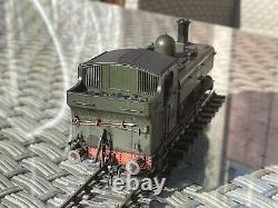 DCC Sound 64XX Pannier Tank BR Early Crest (O Gauge) Boxed Custom Weathered 6421