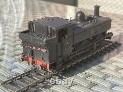 DCC Sound 64XX Pannier Tank BR Early Crest (O Gauge) Boxed Custom Weathered 6435