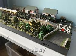 DIORAMA O GAUGE MODEL of Staverton Station, Devon