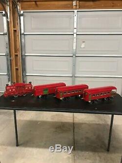 Dorfan Pre War Standard Gauge Locomotive Red 3920, 770, 772, 773