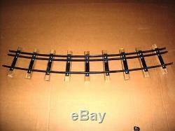 Dual Gauge Tracks 4 3/4 & 3 1/2 Gauge, 20 foot diameter