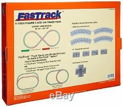 FasTrack Electric O Gauge, Figure-8 Track Add-on Pack (Figure-8 Track)