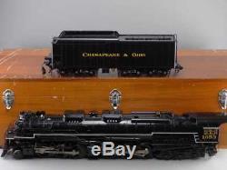 Fine Art Models 1 Gauge Steam Locomotive Allegheny Chesapeake + Ohio H-8