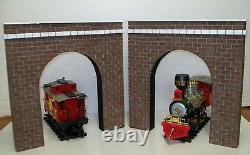 G GAUGE RAILROAD TUNNEL PORTALS / Model G scale Garden Railroads Set of 2