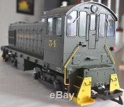 G Gauge-USA Trains R22558 READING Alco S4 Switcher Locomotive #54 LGB Aristo