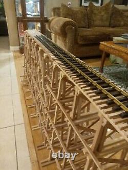 G Scale Model Train REDWOOD Garden Trestle Custom 24 G gauge. KIT! LGB Lionel