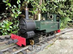 G gauge Accucraft live steam locomotive Lawley