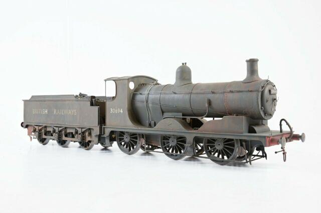 Gauge 1 Scratch Built Br Ex Lswr Drummond 0-6-0'30694', Weathered